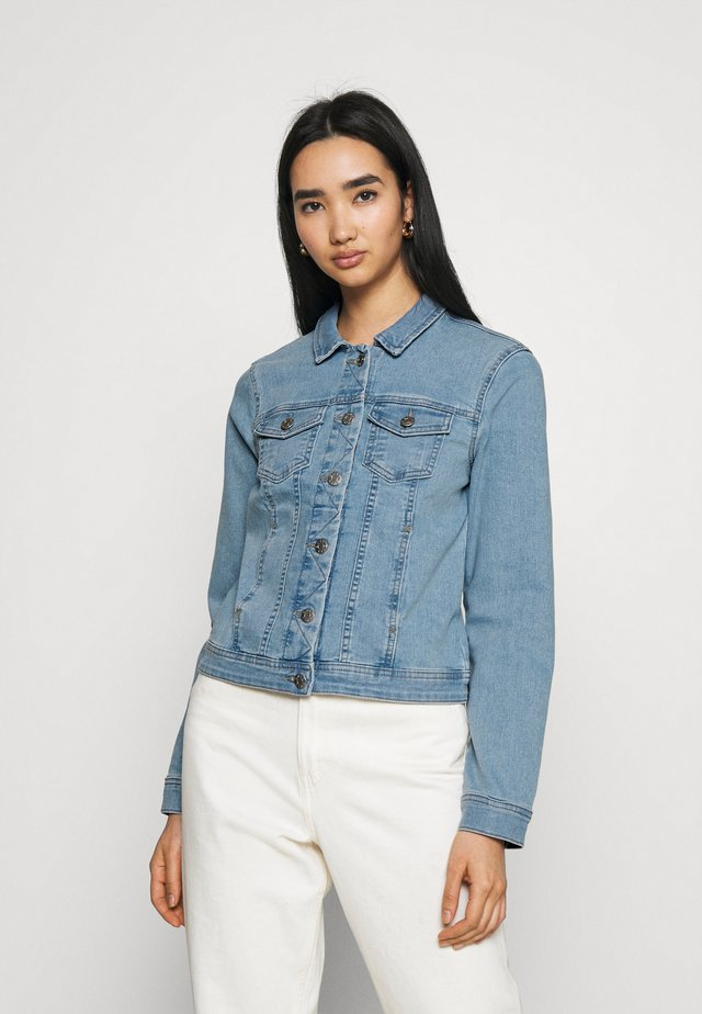 ONLWONDER LIFE - Denim jacket - light blue denim