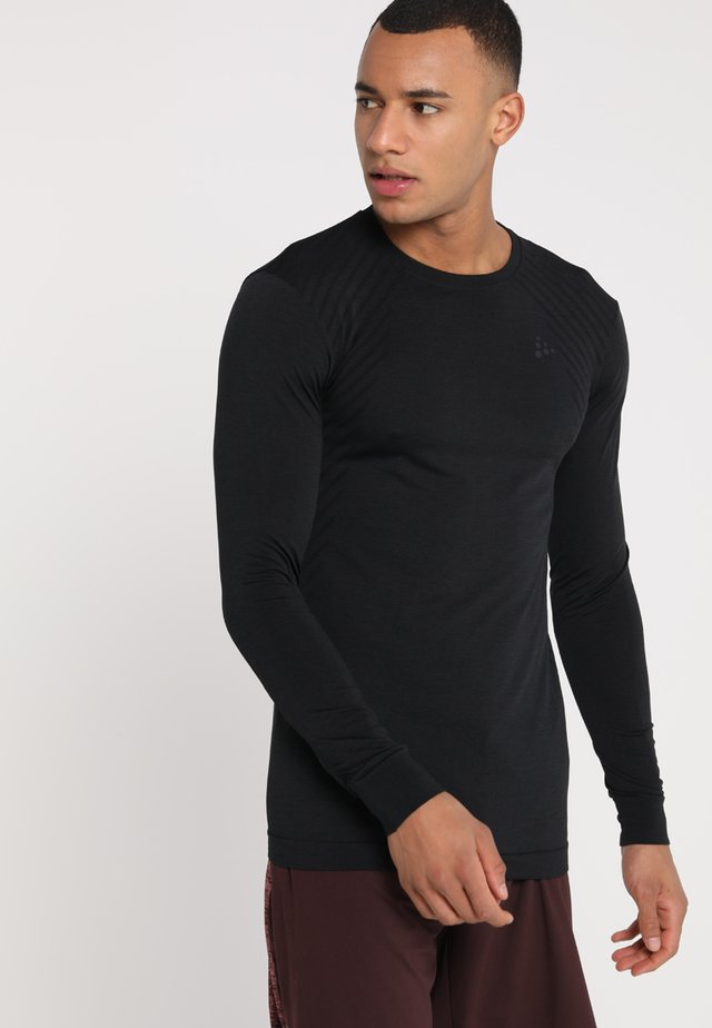 COMFORT - Camiseta de deporte - black