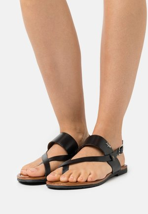 EVELINN - T-bar sandals - black