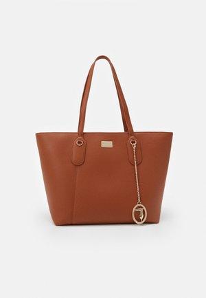 MONACO TUMBLED TOTE - Shopping bags - tan