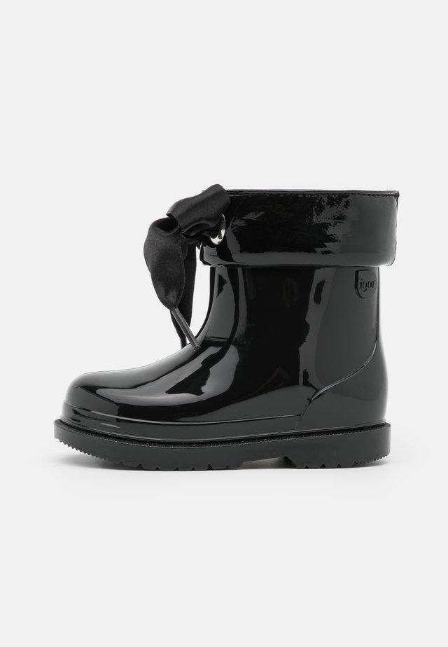 BIMBI LAZO - Bottes en caoutchouc - black