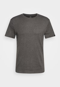 TOM TAILOR - BASIC CREW NECK TEE - T-shirt - bas - dark grey melange - 4