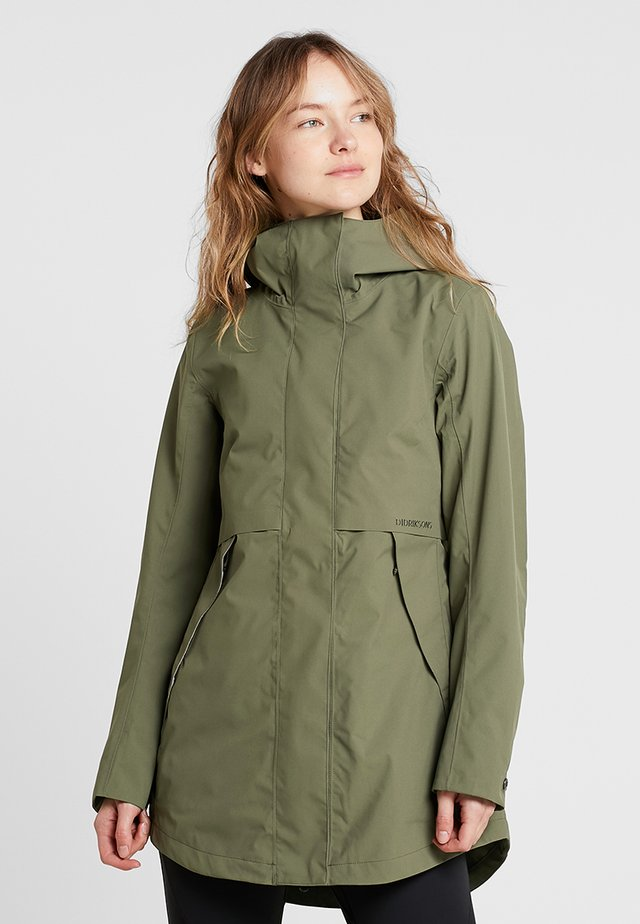 EDITH WOMENS - Parka - olive