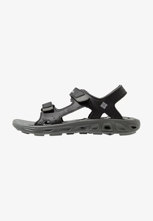 YOUTH TECHSUN VENT UNISEX - Walking sandals - black/grey