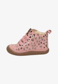 Shoesme - Lace-up ankle boots - roze - 0