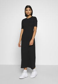 Calvin Klein - MIDI DRESS - Maxi dress - calvin black - 0