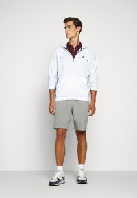Polo Ralph Lauren - LONG SLEEVE - Mikina na zip - pure white - 1