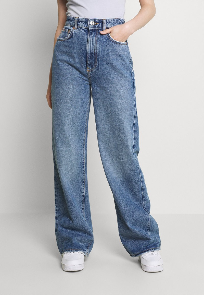 Gina Tricot - IDUN WIDE - Jeans relaxed fit - skyline blue