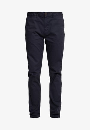 STUART CLASSIC SLIM FIT - Pantalones chinos - night