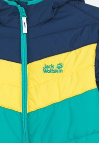 Jack Wolfskin - THREE HILLS UNISEX - Zimní bunda - green ocean - 2