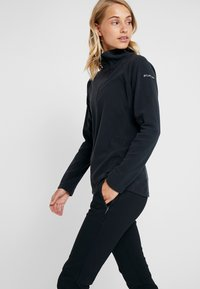 Columbia - GLACIAL 1/2 ZIP - Fleece jumper - black - 3