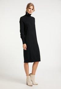 DreiMaster - Jumper dress - schwarz - 1