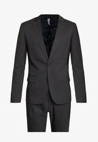Antony Morato - SLIM JACKET BONNIE PANTS  - Kostym - black - 10