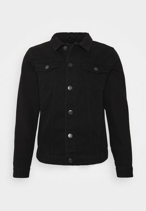 FIELDING - Denim jacket - black