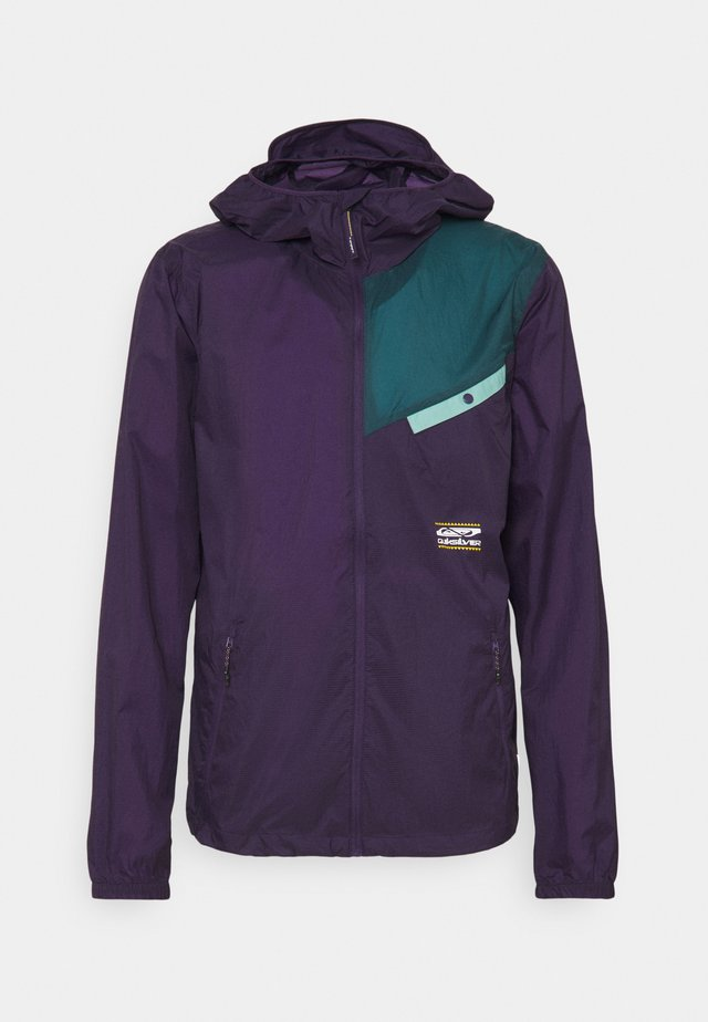 SUMMIT LINE - Summer jacket - purple plumeria