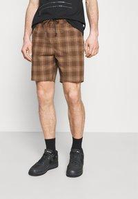 Brixton - MADRID - Shorts - washed brown - 2