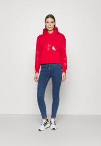 Calvin Klein Jeans - HIGH RISE SUPER SKINNY - Jeans Skinny Fit - dark blue - 1