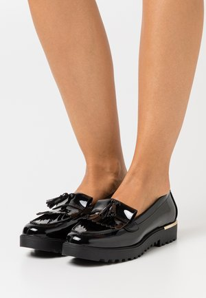 KOFFEE CHUNKY LOAFER - Mocasines - black