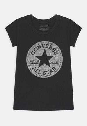 CHUCK - T-shirt print - black