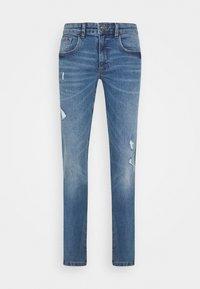 Redefined Rebel - STOCKHOLM DESTROY - Slim fit jeans - nova blue - 3