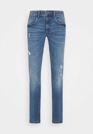 STOCKHOLM DESTROY - Jeans slim fit - nova blue