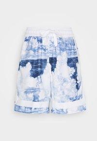 FLY CROSSOVER SHORT - Sports shorts - hyper royal/white/white
