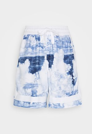 FLY CROSSOVER SHORT - Träningsshorts - hyper royal/white/white
