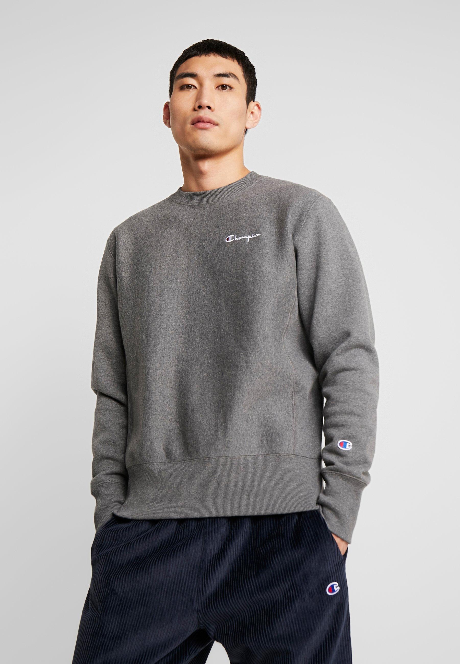 SMALL SCRIPT CREWNECK Sweatshirt grey