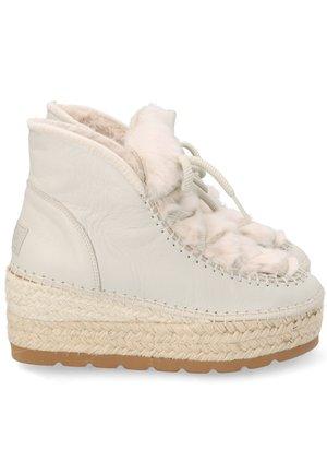 Botas para la nieve - blanco roto