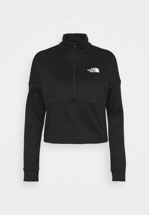ACTIVE TRAIL - Collegepaita - black