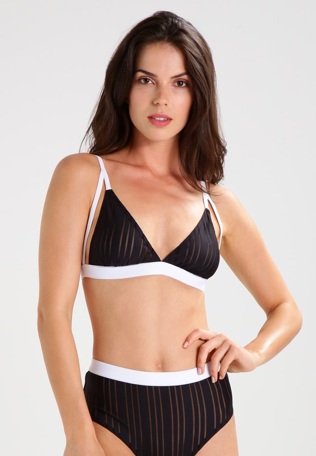 BE BRAVE - Triangle bra - black