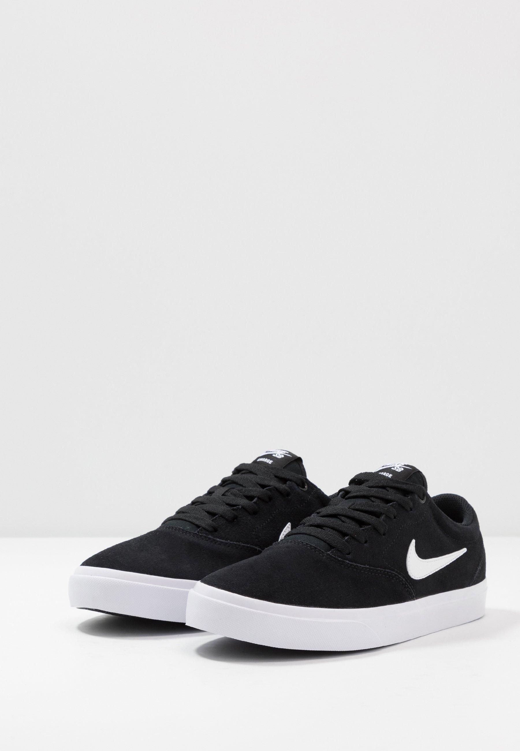Nike SB CHARGE - Chaussures de skate - black/white/noir - ZALANDO.FR