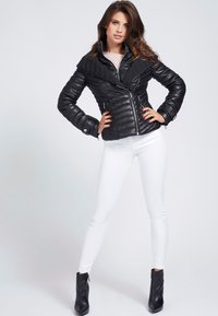 Guess - Faux leather jacket - schwarz - 1