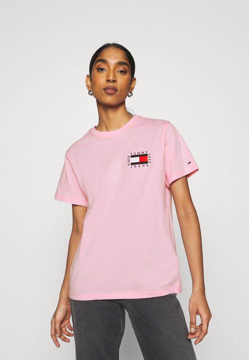 Tommy Jeans - HORIZONTAL STRIPE TEE - T-shirt imprimé - romantic pink