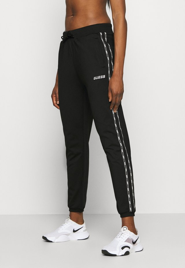 LONG PANTS - Teplákové kalhoty - jet black