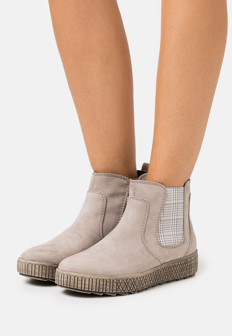 Jana - Ankle boots - light grey