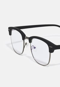 Pier One - BLUE LIGHT GLASSES UNISEX - Blue light glasses - black - 2