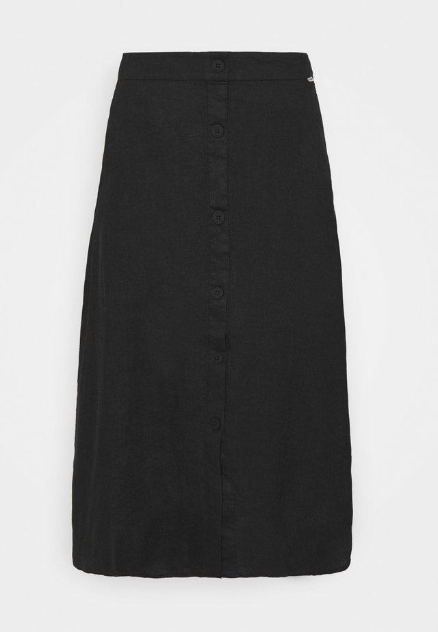 SKY SKIRT WOMAN - Áčková sukně - caviar