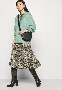 Kaffe - KAKINDA DRESS - Day dress - black/beige - 3