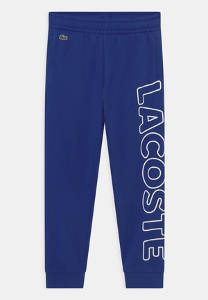 TRACK TROUSERS LOGO - Tracksuit bottoms - bleu
