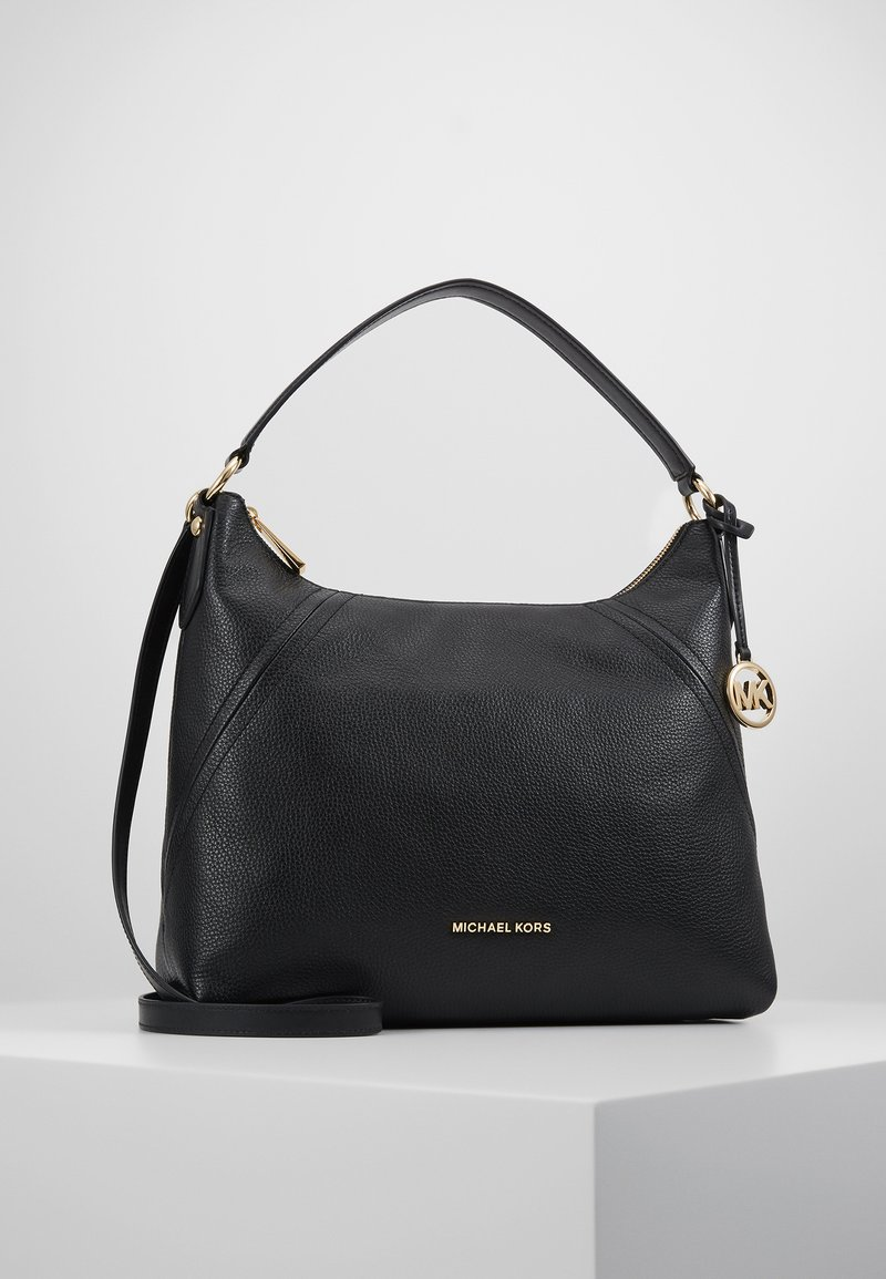 MICHAEL Michael Kors - ARIA PEBBLE  - Handbag - black