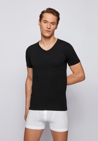 BOSS - 2 PACK - Undershirt - black - 0