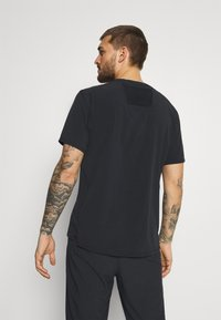 Nike Performance - TRAIL RISE - T-shirts print - black/silver - 2