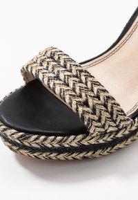 Pepe Jeans - OHARA LOGO - High heeled sandals - black - 2