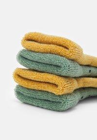MP Denmark - BABY CARLY SOCKS 2 PACK - Socks - granite green - 1