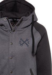 Queen Kerosin - Zip-up sweatshirt - hellgrau - 2