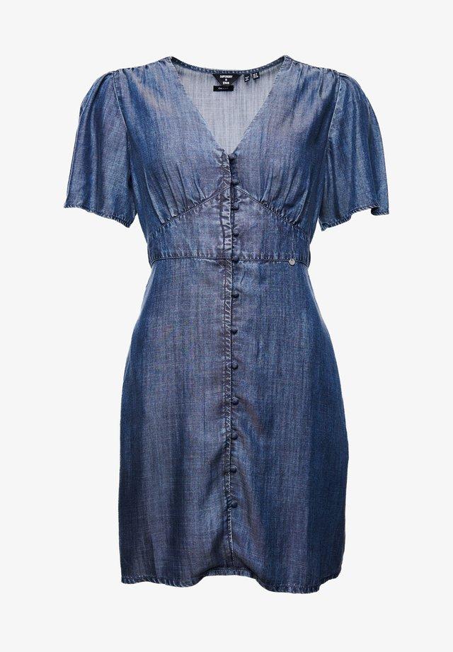 SADIE VINTAGE  - Korte jurk - washed denim