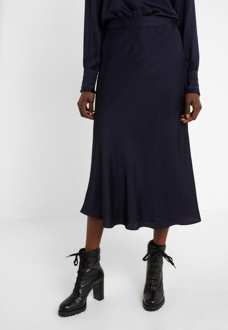 Bruuns Bazaar - BACA SKIRT - A-line skirt - dark navy