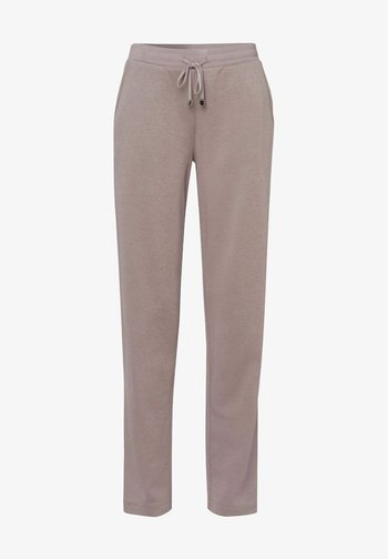 STYLE MORRIS - Tracksuit bottoms - taupe