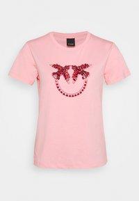 Pinko - QUENTIN - Print T-shirt - rosa - 5